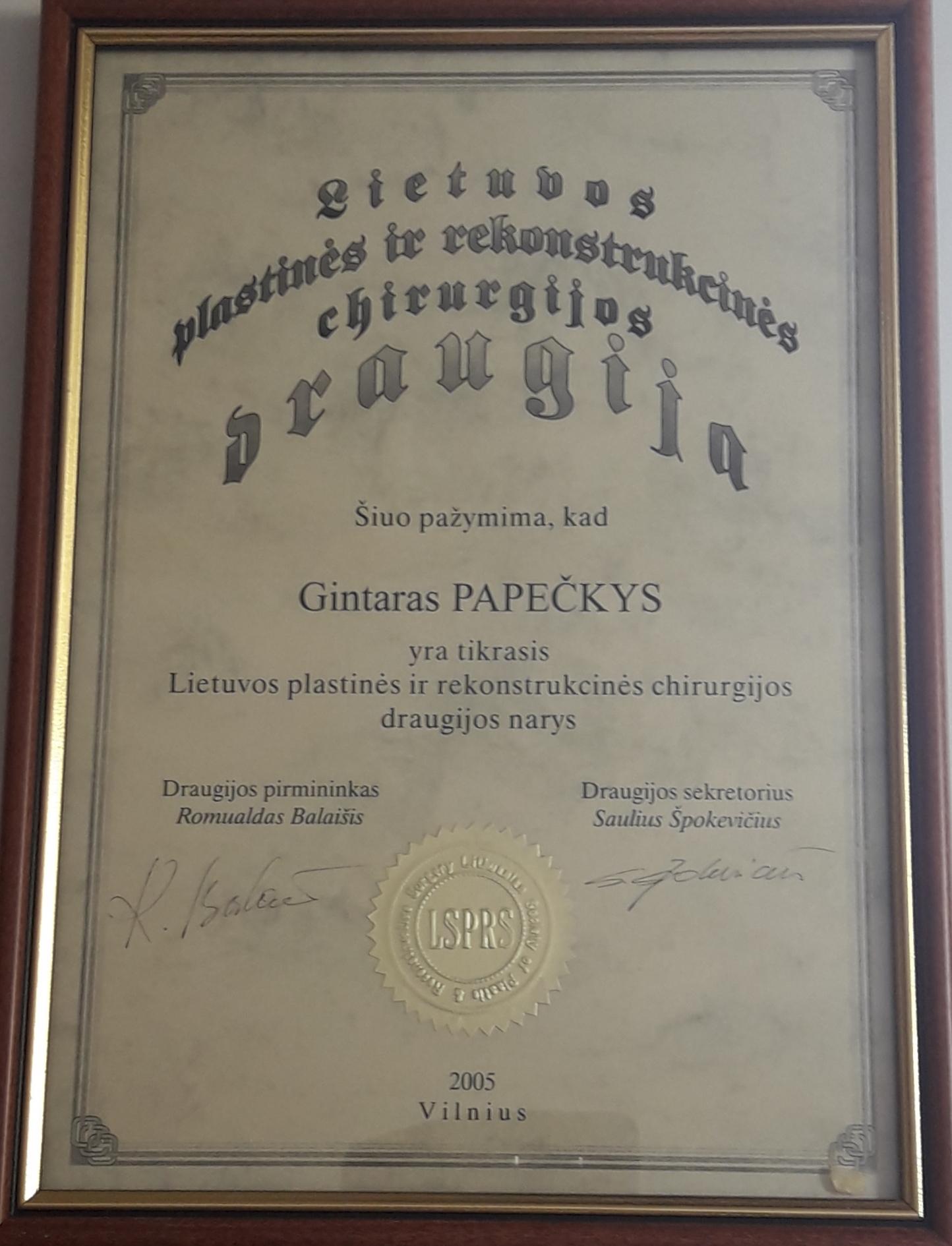 Gintaras Papeckys