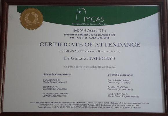 GP klinika sertifikatas