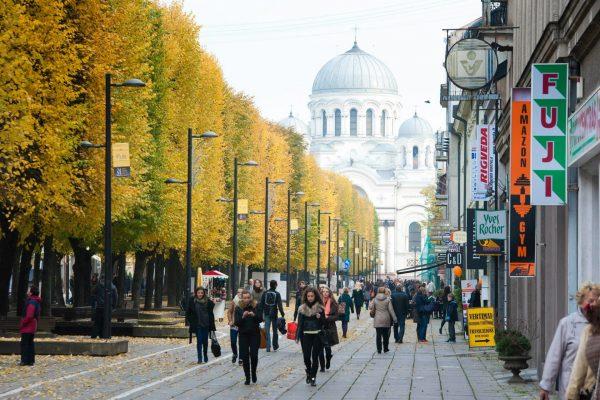 Kaunas Freedom alley