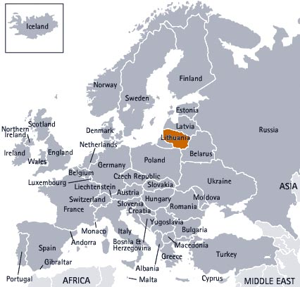 where is Lithuania